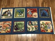 The Magic Wizard of Oz cotton Fabric panel craft quilt sew