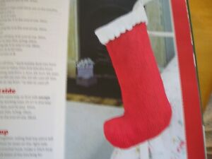 KNITTING PATTERN FOR GIRL AND BOY STOCKINGS.