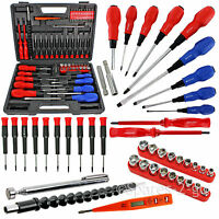 71 Pc Mechanics Screwdriver Set Bit Nut Insulated Magnetic Phillips Flat Torx