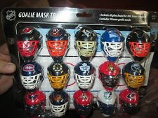 GOALIE MASK TRACKER 30 MASKS WITH DISPLAY BOARD SEALED