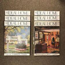 The Ideal Home Magazine: Half Year Set: Jan-June 1930