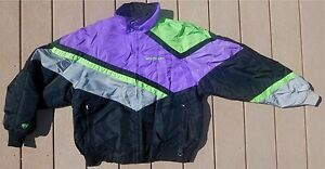 Vintage 2 in 1 ARCTICWEAR ARCTIC CAT Snowmobile Coat Mens L Womens XL Thinsulate