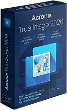 Acronis True Image 2020 Download 1 Gerät 1 PC / MAC Dauerlizenz
