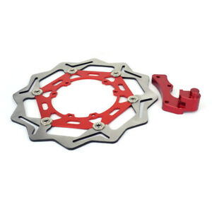 270mm Floating Front Brake Disc Rotor Bracket For CR125 CR250R CRF250R CRF450X