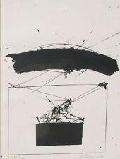 RAMOUS Mario, Programma n°. Con 6 litografie originali di Emilio Scanavino