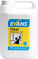 EVANS - CLEAR FINISH - FURNITURE POLISH GLASS STAINLESS STEEL CLEANER - 2 X 5LTR