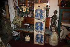 Chinese Japanese Hand Painted Hand Drawn Scroll-Emperor Religious Elder Leader