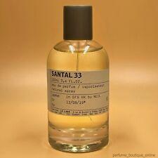 Le Labo Santal 33 Eau De Parfum 3.4 fl.oz. 100 ml New Sealed Box Authentic Spray