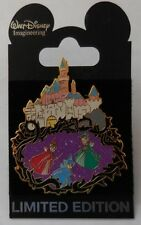 Mickey Pin WDI Sleeping Beauty Castle Walk Through Series 3 Fairies LE300