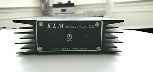 KLM Electronics MOBILE VHF 2m LINEAR AMPLIFIER MODEL PA-10-60BC
