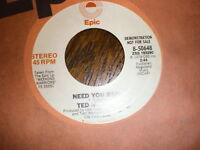 Ted Nugent 45 Need You Bad EPIC PROMO