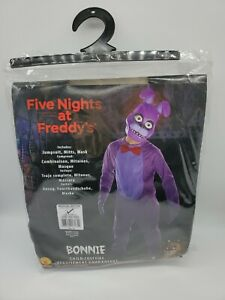 Rubies FNAF Five Nights At Freddys Childs Bonnie Costume, Medium Sz. 8-10 Used
