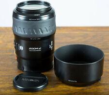 Nr Mint Minolta Maxxum 100-300mm f4.5-5.6 AF ZOOM Xi Lens SONY A Mnt SLR Tested!