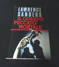 Il quarto peccato mortale - Lawrence Sanders - Edizione Rilegata -