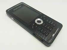 SONY ERICSSON W302 WALKMAN BLACK MOBILE PHONE UNLOCKED EXCELLENT CONDITION
