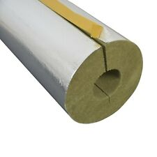 Steinwolle Rohrisolierung Rockwool 800 alukaschiert 28 x 30 mm voller Karton