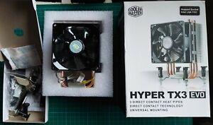 Cooler Master Hyper TX3 Evo Boxed Cooler Heatsink Great Condition