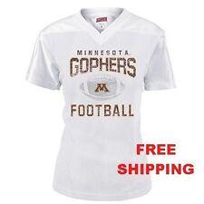 Minnesota Golden Gophers Free Shipping Mesh Football Jersey Girls- Juniors Small