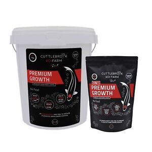 Koi Carp Food - High Protein Floating Feed - Premium Growth by Cuttlebrook Koi