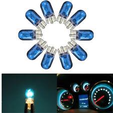 10x Azul T10 W5W 501 Flash coche Halógena Cuña Cuadro de mandos Luz Bombilla 12V