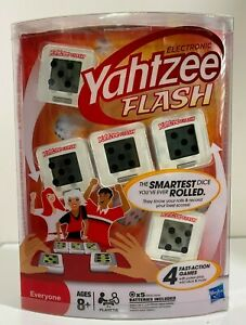 Yahtzee Flash Electronic Dice Game - Hasbro -  New and factory sealed