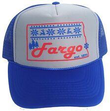Fargo North Dakota Snapback Mesh Trucker Hat Cap