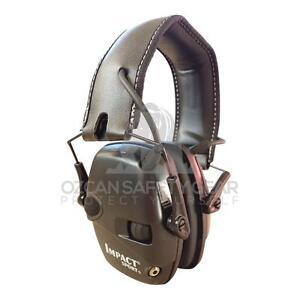 Howard Leight Impact Sport Black Shooting Electronic Earmuff Outdoor RRP$99.99