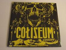 """COLISEUM Goddamage 2x7"""" limited vinyl OOP SEALED"""