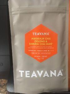 Teavana 2 oz bag Maharaja Chai Oolong & Samurai Chai Mate  New Mate/Oolong Tea