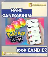 Pokemon Go - RARE CANDY FARM X100 - READ DESCRIPTION