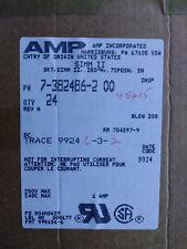 """AMP  7-382486-2 SIMM II,.250""""H,.050CL,72P,SN MEMORY SOCKET ( LOT OF 24 ) NEW"""