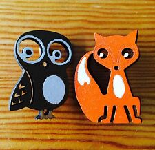 Animal Multi-Coloured Costume Brooches & Pins