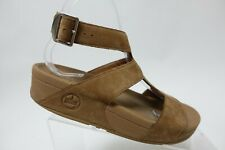 FITFLOP Arena Brown Sz 7 Women Gladiator Sandals
