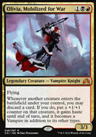 1x OLIVIA, MOBILIZED FOR WAR - Rare - Innistrad - MTG - NM - Magic the Gathering