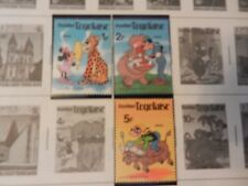 Set of 3 Disney Stamps 1980 Minnie, Goofy Dingo from Togo, MNH