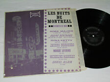 LES NUITS DE MONTREAL En Vedette Ce Soir LP Aime Major Andre Bertrand Rina Ketty