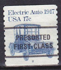 Used PNC1 17c Auto WA 2C P/C US #1906a F-VF