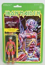 "Iron Maiden SOMEWHERE IN TIME Super 7 ReAction 3.75"" Figure NEW Cyborg Eddie"