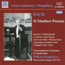Johann Sebastian Bach : St. Matthew Passion (Mengelberg, Concertgebouw