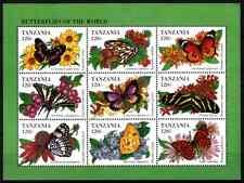 TANZANIA 1994 - BLOC BUTTERFLY MNH