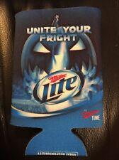 Miller Lite Unite Your Fright Can Cooler Koozie