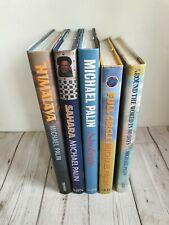 5 hardback travel book Michael Palin Sahara Himalayas Europe 80 Days Full Circle
