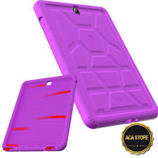Corner Protection Case For Galaxy Tab A 9.7 Tablet Silicone Cover Purple