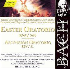 Bach: Easter and Ascension Oratorios - RILLING -(CD, Feb-2000, Haenssler)-NEW