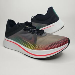 Nike Mens Zoom Fly SP Fast Black Red White Running Shoes Size 11.5 BV6105-001