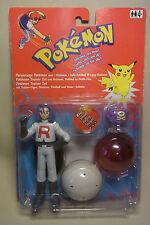 VINTAGE 90s personaggio James & Smogon Pokemon Trainer SET HASBRO 1998 OVP