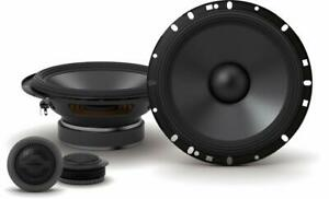 "Pair ALPINE S-S65C 240 Watt 6.5"" Car Component Speakers w/1"" Silk Dome Tweeters"