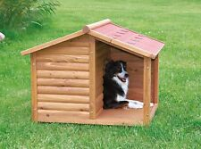 Trixie Log Cabin Dog House For Medium Dogs Insulated Covered Porch Brand New