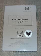 Rorschach Psychodiagnostic Inkblot Test Plates Hermann Rorschach, Set of 10