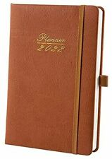 Daily Planner 2022 Appointment Book From Jan 2022 To Dec 2022 Brown